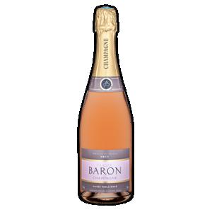 Champagne Claude Baron Cuvee Perle Rose Brut